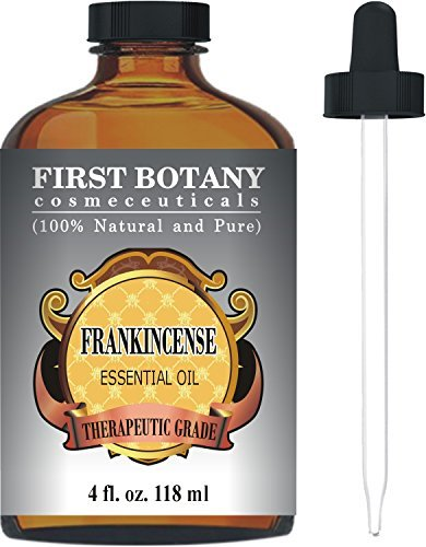 First Botany Cosmeceuticals Frankincense Essential Oil with Glass Dropper – Big 4 Fl. Oz
