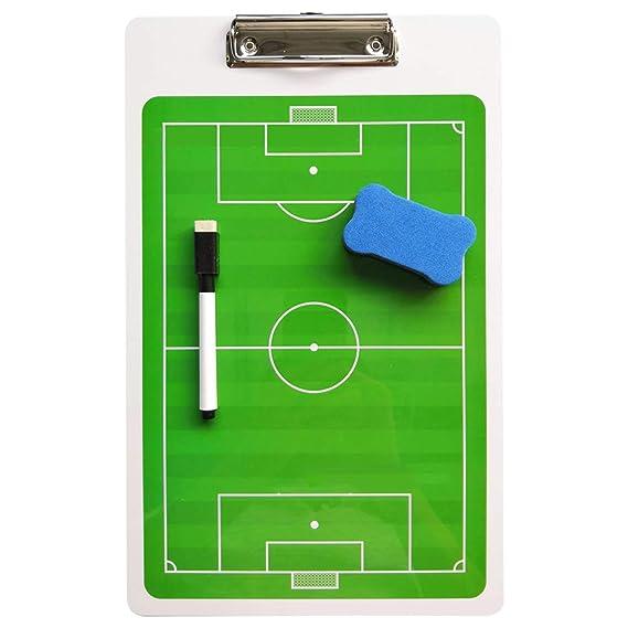 Carpeta táctica Pizarra Táctica Portapapeles Fútbol Tablero de ...