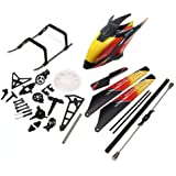 SciencePurchase Rc Helicopter Accessories Bag Spare Parts for WLtoys V913 4CH 2.4GHz