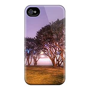 Tough Iphone DuE31386ktBe Cases Covers/ Cases For Iphone 6(trees By A Foggy Navy Base In San Diego)