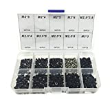 500pcs Laptop Notebook Computer Screw Kit Set For IBM HP Dell Lenovo Samsung Sony Toshiba Gateway Acer