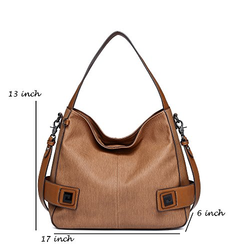 Shop Purses Work Bags Leather For Crossbody Fall Wine SALE 1811 Handbags BIG Brown Winter Classic Hobo Bags Meeting Shoulder Women Vintage nZFqw04