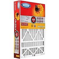 BestAir HW1625-11R Furnace Filter, 16' x 25' x 4', Honeywell Replacement, MERV 11