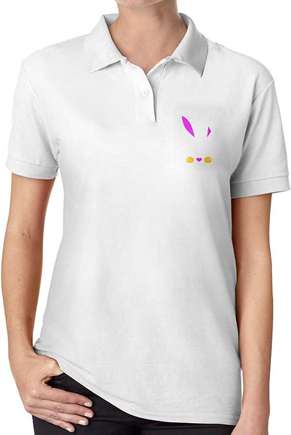 David A Beltran Lindo Conejo de Pascua Esencial Camisa Polo ...