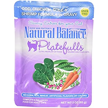 Natural Balance Pouch Cat Food Amazon