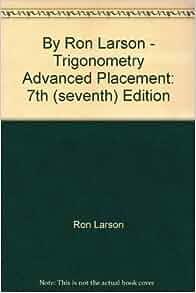 larson trigonometry 7th edition pdf