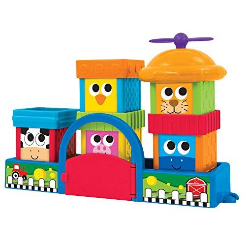 Sassy Block Set, Farmyard Friends