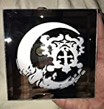Castlevania Anime Belmont's Crest Logo Mirror Glass Etching