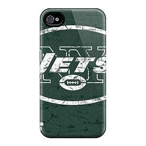 LauraAdamicska Iphone 6plus Protector Hard Cell-phone Case Allow Personal Design Beautiful New York Jets Pattern [ida12452WSsI]