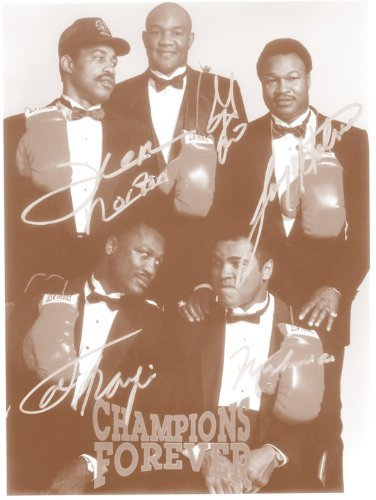 George Foreman, Muhammad Ali, Joe Frazier Boxing Champions 11