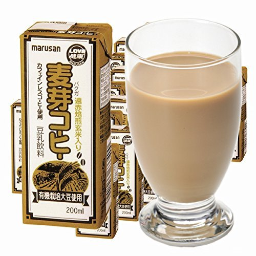 Marsan caf? de soja ojo leche de la bebida de malta (uso org?nica cultivo de la soja) piezas X24 paquete de papel 200ml: Amazon.es: Alimentación y bebidas