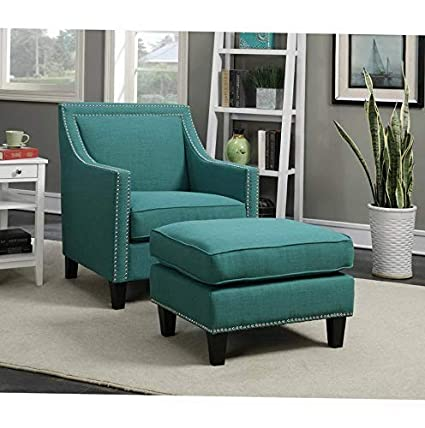 Amazon.com: Hebel Picket House Emery Accent Chair with ...