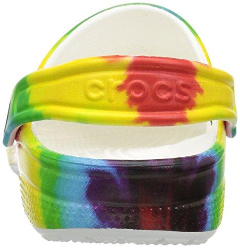 Crocs Unisex Classic Tie Dye Graphic Clog K, Multi, 12 M US Little Kid by Crocs (Image #2)