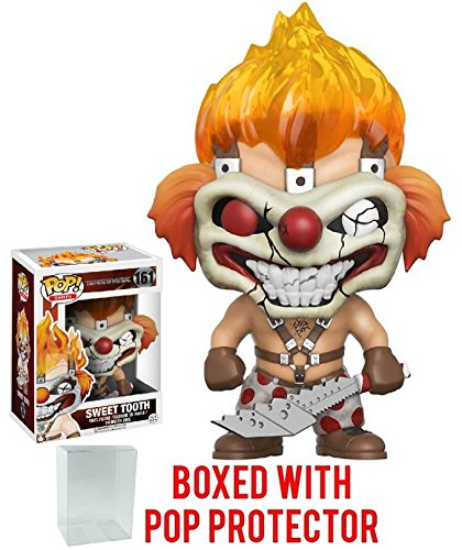 (Funko Pop! Games: Twisted Metal Sweet Tooth Vinyl Figure (Bundled with Pop BOX PROTECTOR CASE))