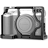 SmallRig Camera Cage for Panasonic GX8 Camera with Double Nato Rails and Built-in Cold Shoe - 1844