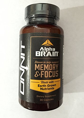 Mental Dominance, Onnit, 30 Capsule, Onit, Focus/alpha Brain by USA