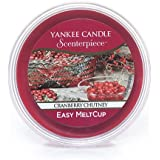 Scenterpiece Easy MeltCup 2.2oz - Yankee Candle Cranberry Chutney by Yankee Candle