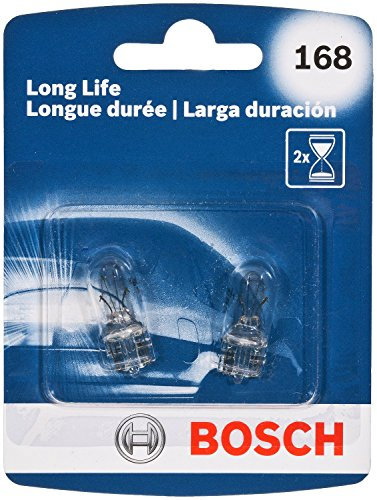 Bosch Automotive 168LL 168 Light Bulb, 2 ()