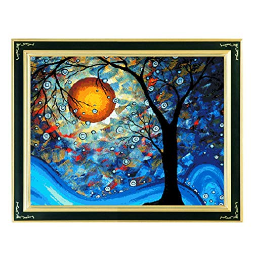 Cross Stitch, Van Gogh, The World Tree, Come