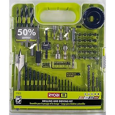 Ryobi Drill Bit Set 60 Piece