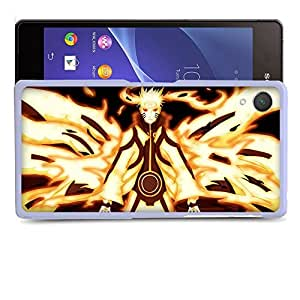 Case88 Designs Naruto Naruto Nine-Tailed Beast Mode Protective Snap-on Hard Back Case Cover for Sony Xperia Z2