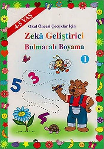 Okul Oncesi Cocuklar Icin Zeka Gelistirici Bulmacali Boyama 1 4