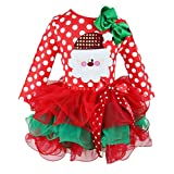 Girls Dress for Christmas Dress Up Princess Tutu Skirt Girls Clothes 7-8 years old