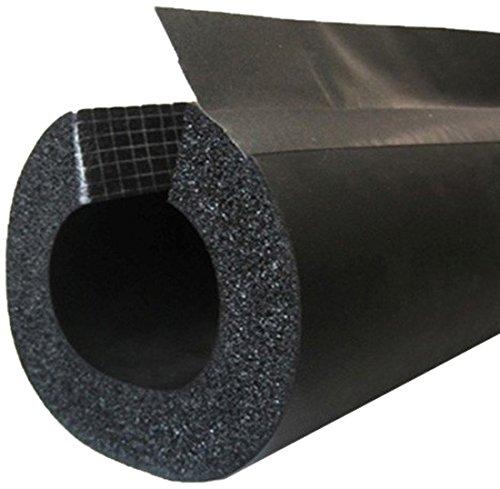 (BriskHeat INSUL312 Insul Insul-Lock 3-1/2 in (89 Mm) Double Seal Tube with PVC Overlap Tape - Flexible Pipe Insulation)