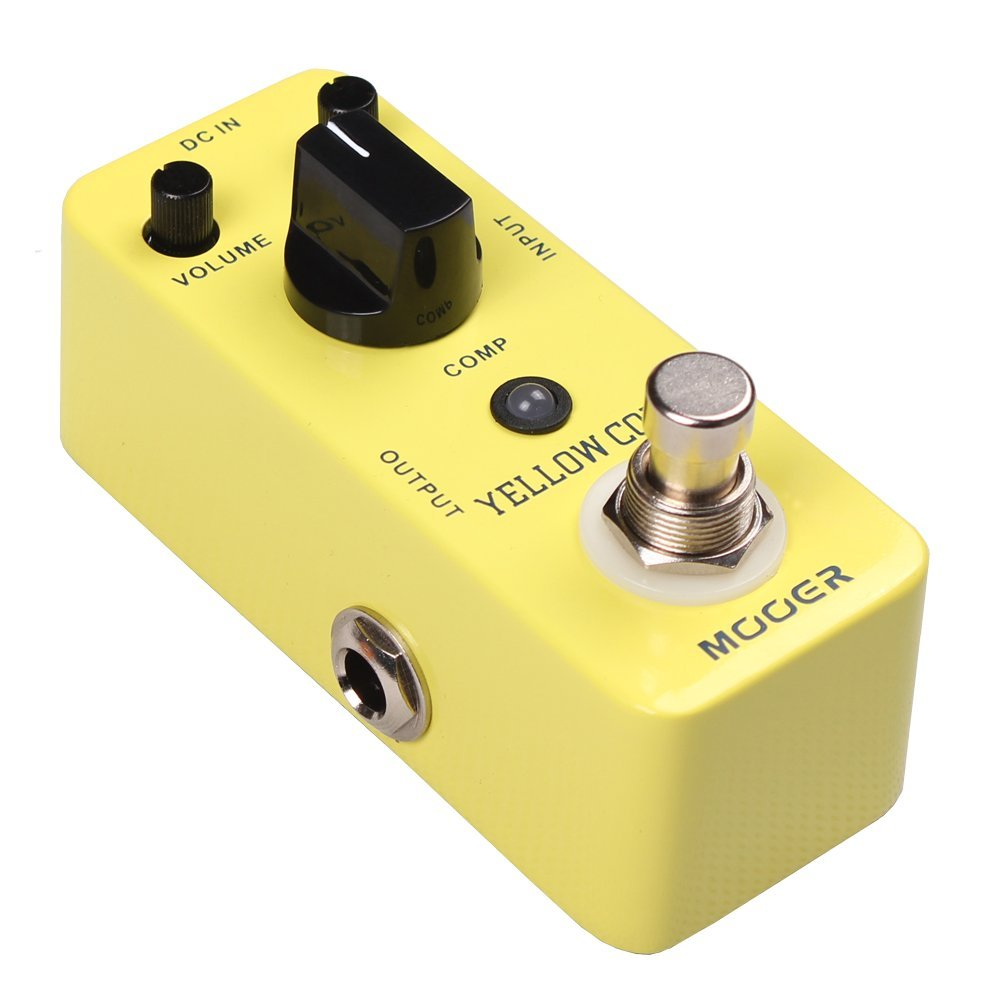 Mooer MCS2 Yellow Compression Effects Pedal