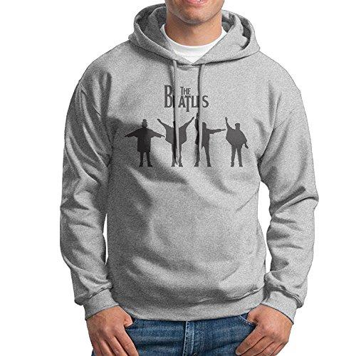 MARC Men's THE BEATLE Hooded Sweatshirt Ash Size XXL