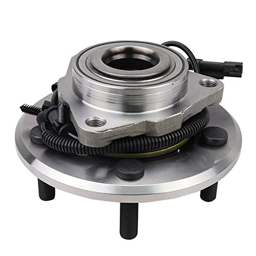 Price comparison product image CRS NT590515 New Wheel Bearing Hub Assembly,  Front Left (Driver) / Right (Passenger) Side,  for 2013-2016 Ram 1500,  4WD / RWD,  w / ABS