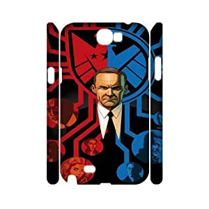 Agents of S.H.I.E.L.D FG2083065 3D Art Print Design Phone Back Case Customized Hard Shell Protection Samsung Galaxy Note 2 N7100