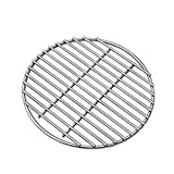 12' BBQ High Heat Stainless Steel Charcoal Fire Grate Fits for Kamado Joe Big Joe Grill Fire Grate and Other Grill Parts Charcoal Grate Replacement Accessories (12') ...