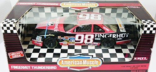 Fingerhut Thunderbird Nascar Ertl Collectibles  98 Black 1 18 American Muscle