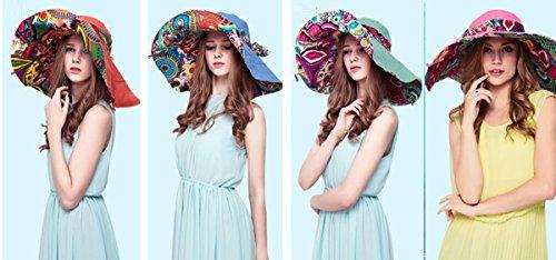 HAPEE Large Wide Brim Sun Hat for Women,Summer Hats for Beach Garding,Floppy