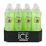 Sparkling Ice Kiwi Strawberry Sparkling Water Beverage, 12 Count