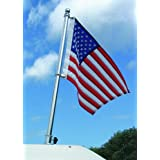 Taylor Made Products, Flag Pole Set, Polished Stainless Steel