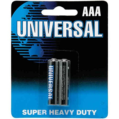 Universal Power Group D5931/D5331 AAA-2PK Super Heavy Duty B