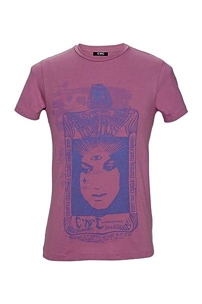 3a9329d56fc988 C N C Costume National T-Shirt Damen Altrosa Größe M  Amazon.de ...