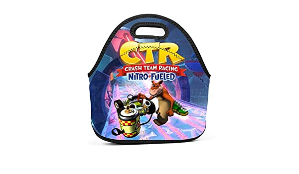 Kart Crash Team Racing Bolsa de almuerzo reutilizable de ...