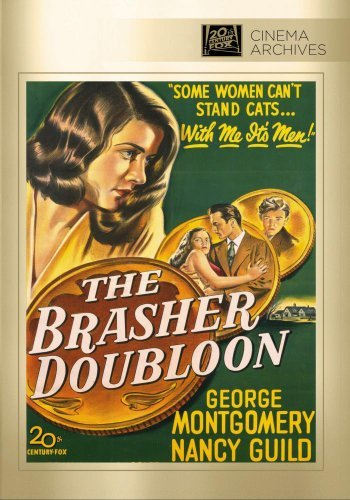 The Brasher Doubloon by George Montgomery
