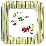 Baby Seuss Square Dinner Plates