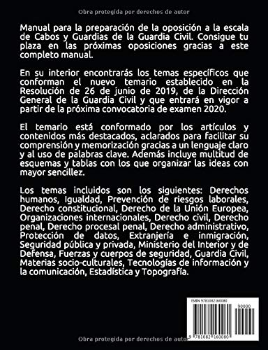 Guardia Civil - Manual para oposiciones: Temario actualizado ...
