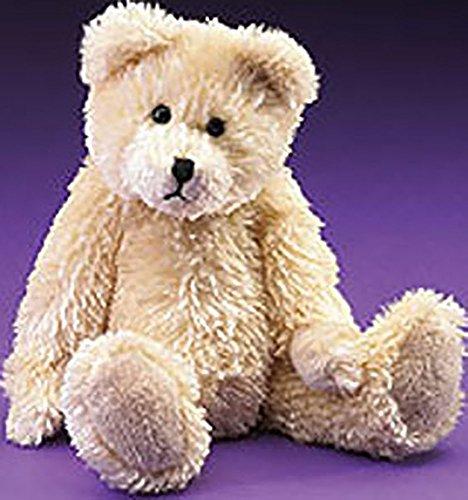 (Boyds Plush Lil Fuzzies Georgie Creamy Beige Teddy Bear)