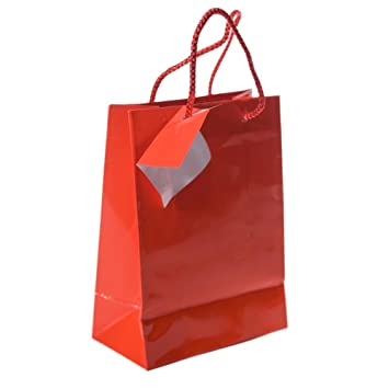 small red gift bags 1 dozen bulk toy