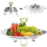 Steamer Basket, Joinkitch Stainless steel Food Steamer Insert...