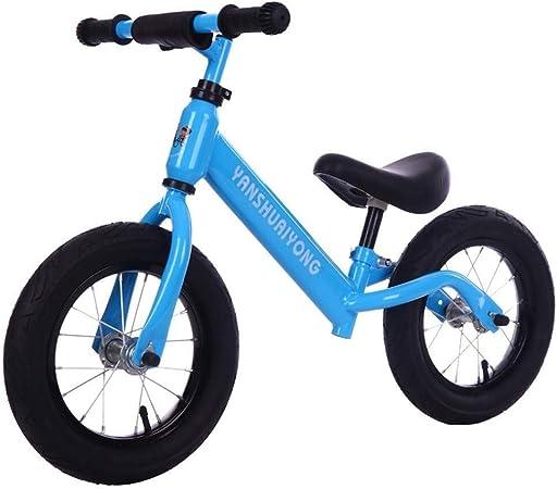 Bicicleta Sin Pedales Ultraligera Bicicleta de equilibrio para niños - Para niños 3,4,5,6 años, Bicicleta ligera para niños pequeños con amortiguador de muelles, Bicicleta de entrenamiento, asiento y: Amazon.es: Hogar