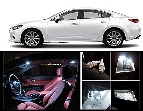 Amazon 2014 2016 Mazda 6 White Led Package Vanity Interior