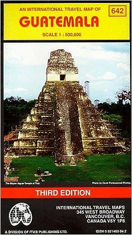 Guatemala Travel Reference Map