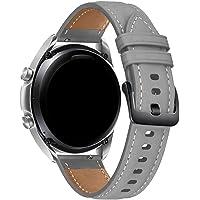 Pulseira 22mm Couro Padrão compatível com Samsung Galaxy Watch 3 45mm - Galaxy Watch 46mm - Gear S3 Frontier - Amazfit…